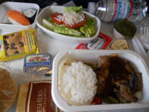 機内食/An in-flight meal