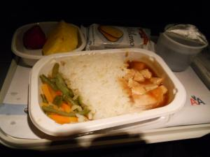 機内食2色目/The second in-flight meal