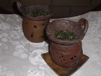 備前焼(茶香炉)