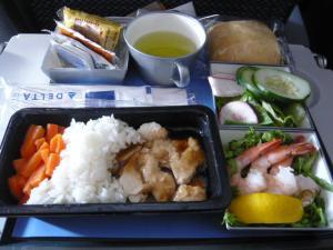 ノースウエスト航空 シアトル→成田1