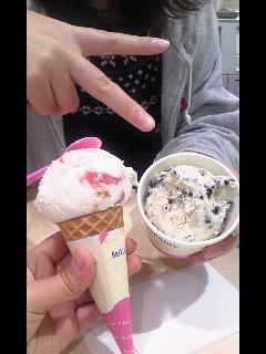 セレナとアイス