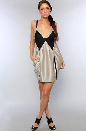 Karmaloop - Blaque lacbel -satindress
