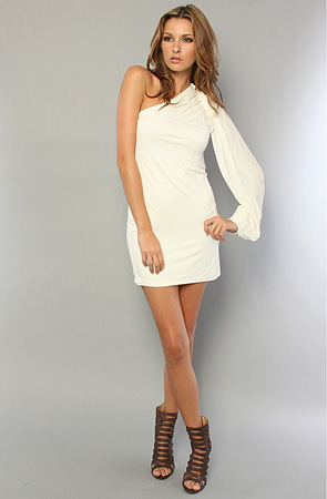 Karmaloop - Blaque lacbel -whitedress