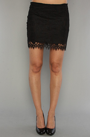 Karmaloop - BB -lace skirt