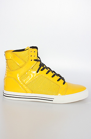 Karmaloop supra yellow