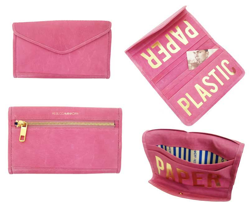 LY pink wallet