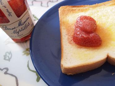 石井さんちのイチゴでジャム作り10