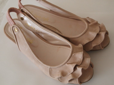地下街の靴