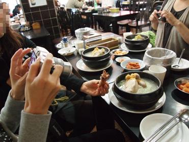 百済参鶏湯3