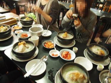 百済参鶏湯2