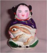 中国人形後