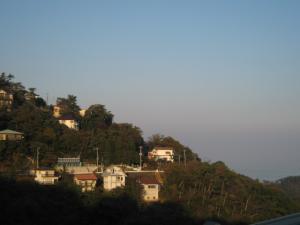 別荘からの眺め