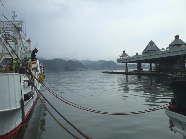 DSCF1711 気仙沼漁港と魚市場 W