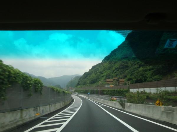 山に向かって~