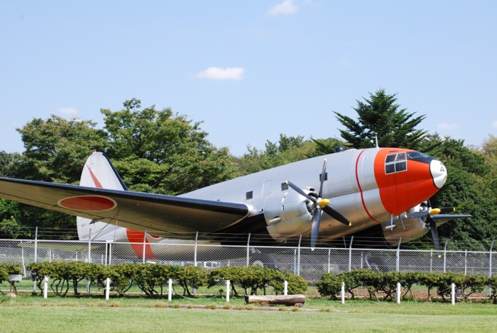 航空公園なので、飛行機もあります。