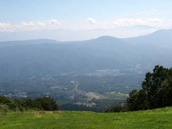 山頂からの眺め