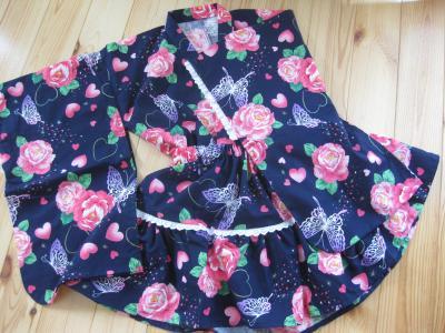 ドレス浴衣