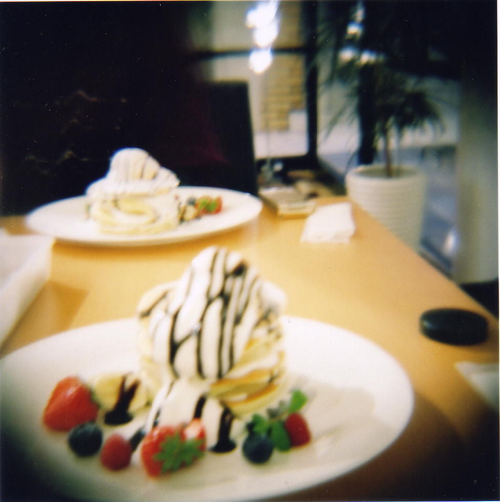 099_cafe-BOULEVARD DES GATEAUX の チョコバナナパンケーキ-