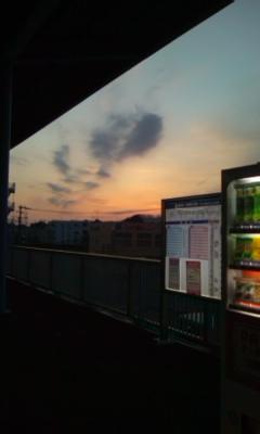 三浦海岸駅の帰り