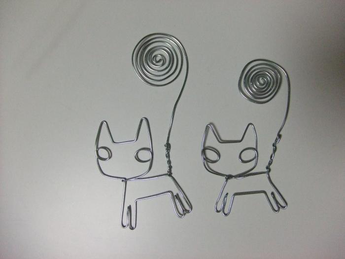 針金アート_39