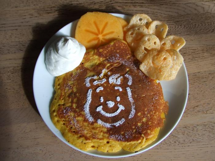 かぼちゃのPoohさんパンケーキ