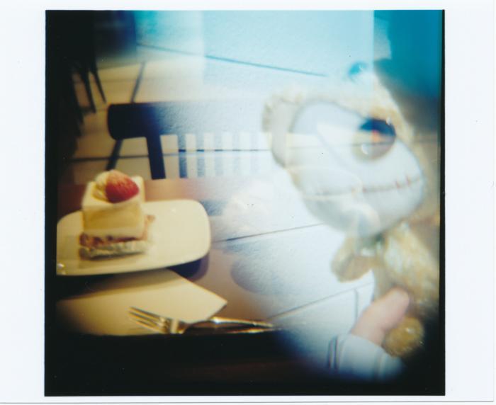 狙われたケーキ