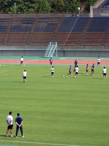 U22練習試合1