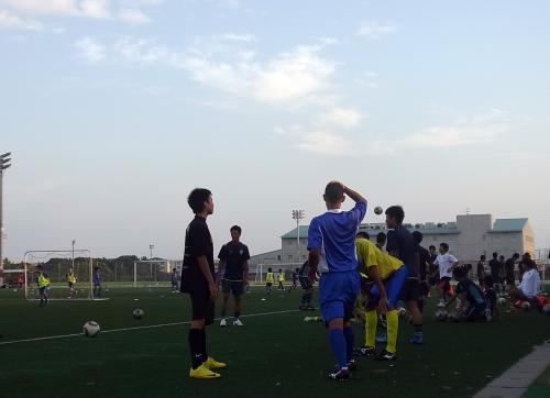 U22練習試合16