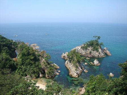 B090813-9鴨ヶ磯海岸