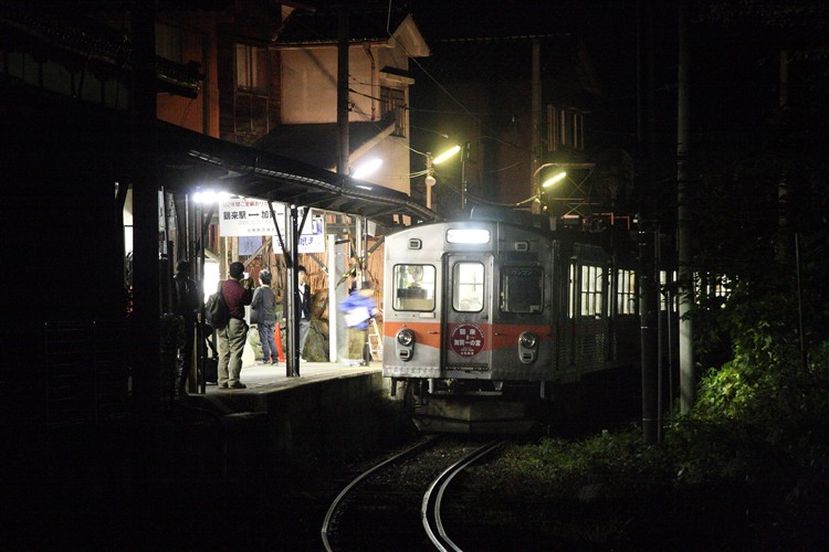 北陸鉄道 加賀一の宮駅 最終日