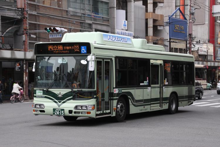 京都市交通局 京都200か2415 日野LJG-HU8JMGP