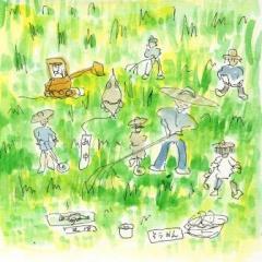 お山の草刈