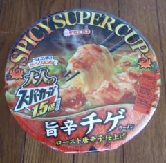 スーパーカップ【旨辛チゲラーメン】(エースコック)