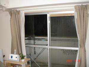 掃き出し窓インプラス新規取付前