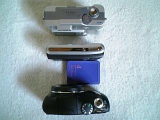 カメラ3台縦