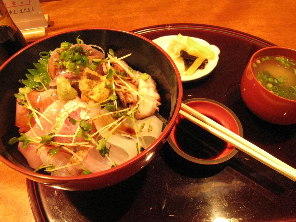 海鮮丼 2011.05.23