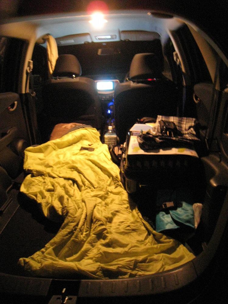 車中泊 2011.05.23