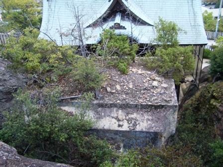拝殿の裏からCIMG0048