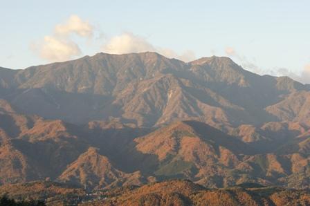 2009.11.15八ヶ岳の朝