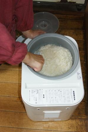 2009.12.30 12月の年越しの餅つき2