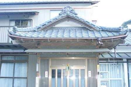 2010.1.1 正月飾り(玄関)