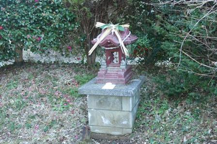 2010.1.1 正月飾り(お稲荷様)