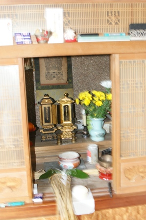 2010.1.1 正月飾り(仏様)