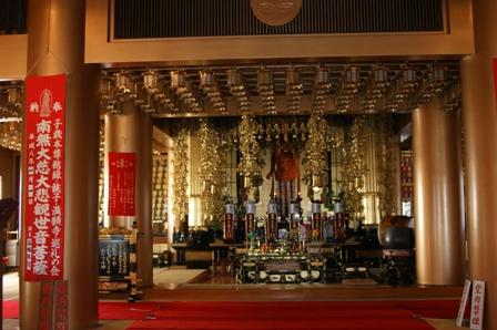 2010.1.9 正月の初詣その3(満願時内部)