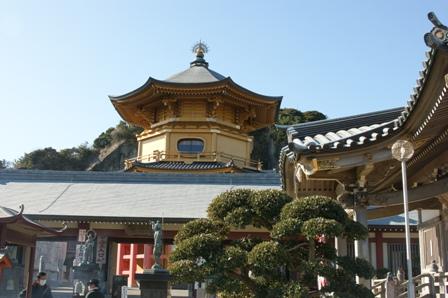 2010.1.9 正月の初詣その3 (満願寺)