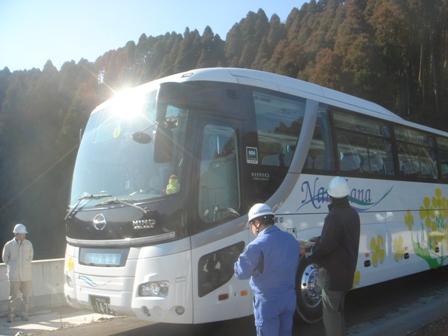 2010.1.15 千葉県建設技術協会視察(トンネルバス) 006