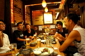 2011.7.26ブログ【金津さん送別会】画像 (2)