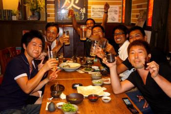 2011.7.26ブログ【金津さん送別会】画像 (1)