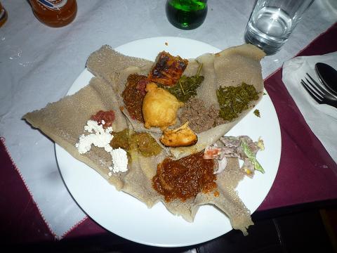 エチオピアの食事