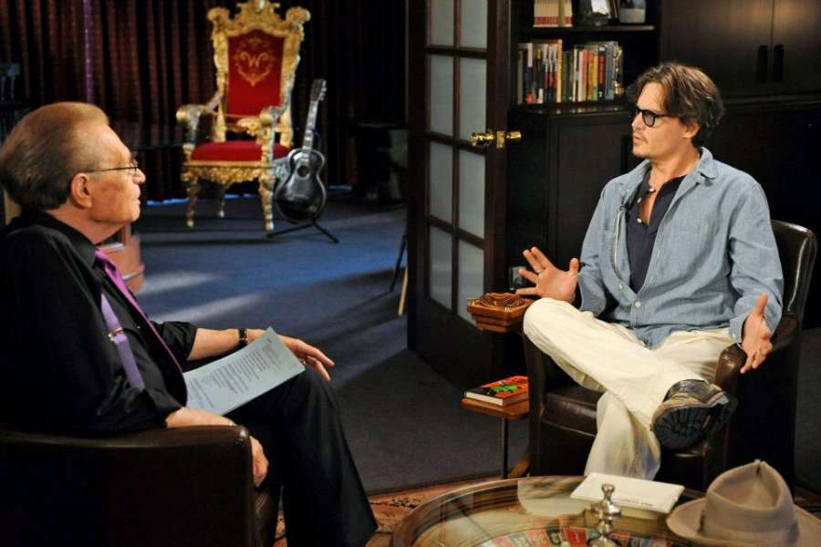 Larry King interview with Johnny Depp